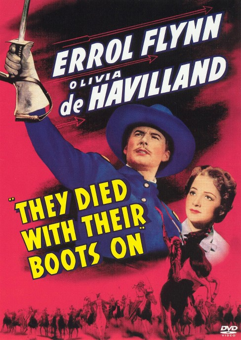 They died with their boots on (DVD) - image 1 of 1