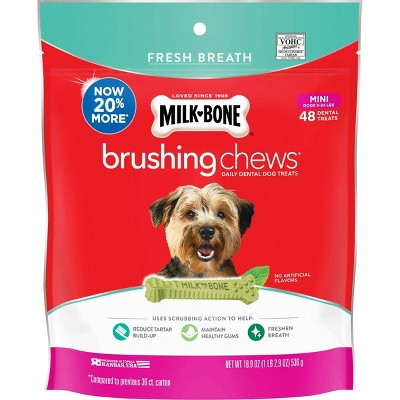 Dog Treats: Milk-Bone Brushing Chews