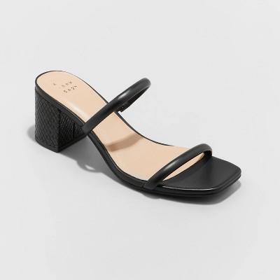 Women's Cris Block Heels - A New Day™