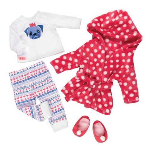 "Our Generation Deluxe Pajama Outfit for 18"" Dolls - Snuggle Up - image 1 of 3"