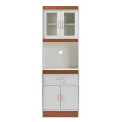 Laurana Kitchen Cabinet and Hutch - Baxton Studio