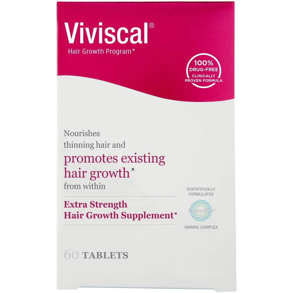 Image of Viviscal Promotes Hair Growth Clinically Proven Dietary Supplement - 60ct