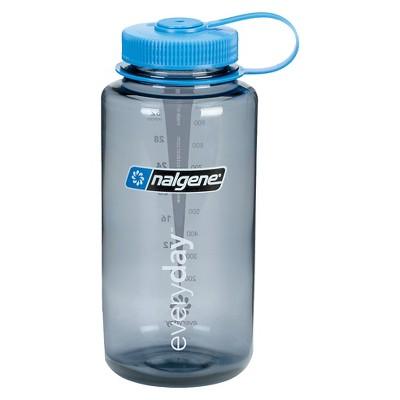 Nalgene Water Bottle Wide Mouth 32 oz - Gray
