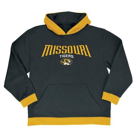 NCAA® Boys' All Star Pullover Poly Hoodie Sweatshirt Missouri Tigers - S - image 1 of 1
