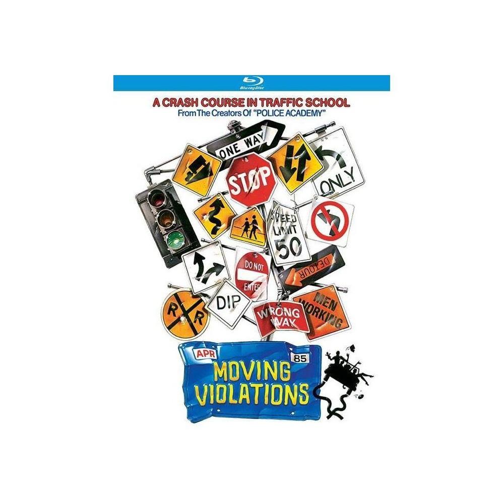 Moving Violations Blu Ray