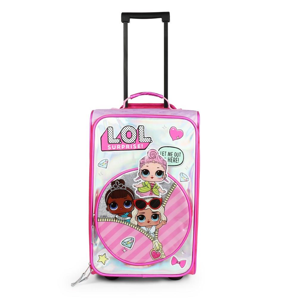 "Image of ""L.O.L. Surprise! 17"""" Hardside Kids Suitcase - Pink, Girl's, Size: Large, Purple"""