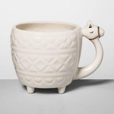 14oz Stoneware Camel Mug Cream - Opalhouse™