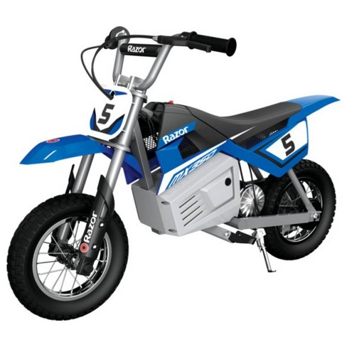 Razor 24V MX350 Dirt Rocket Powered Ride-On - Blue - image 1 of 4
