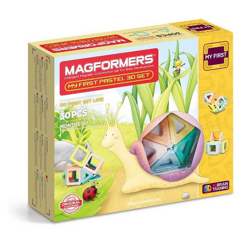 Magformers My First Pastel Building Set - 30pc - image 1 of 9