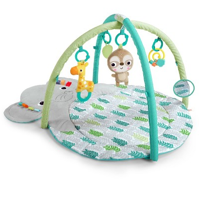 Bright Starts Hug-n-Cuddle Elephant Activity Gym - Blue