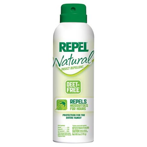 Repel Naturals Insect Repellent Aerosol 6 Oz Target