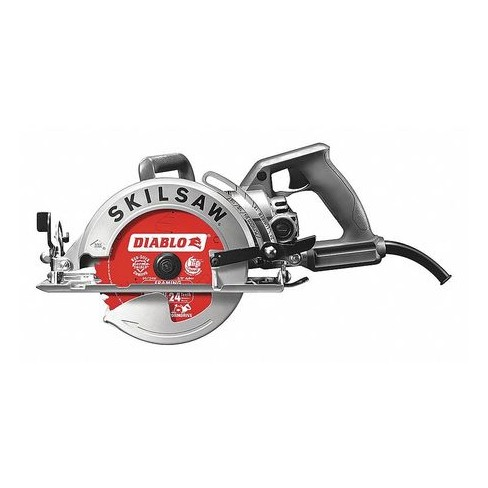 SKILSAW SPT77W-22 Worm Drive Circular Saw,D-Ring,14.2 lb. - image 1 of 3