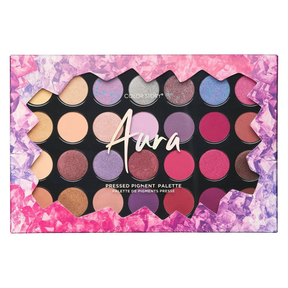 Image of Color Story Holiday Aura Eyeshadow Palette - 28 Shades/1.76oz