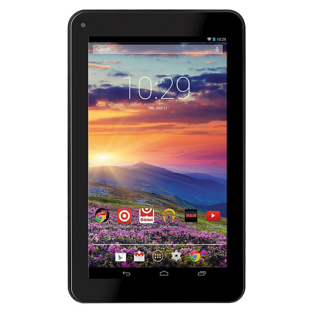 Rca 7 Android Tablet 1 GB Ram 1 GHz Dual Core Processor - Black (RCT6672W23)