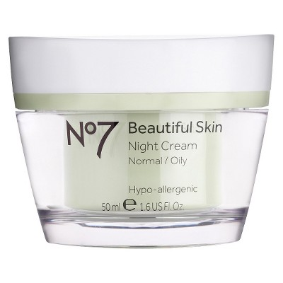 No7® Beautiful Skin Night Cream Normal/Oily - 1.6oz