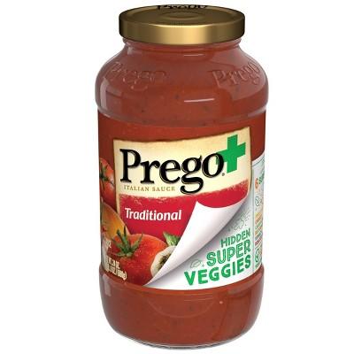 Prego Plus Vegetable Traditional - 24oz