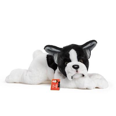 "FAO Schwarz Adopt-A-Pets Bulldog 22"" Stuffed Animal with Adoption Certificate"