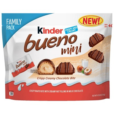 Kinder Bueno Minis Family Pack - 9.5oz