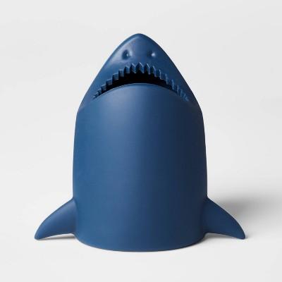 Toothbrush Holder Shark Blue - Pillowfort™