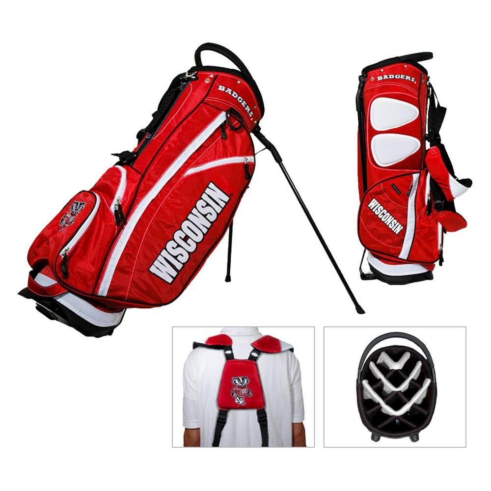 NCAA Fairway Stand Bag Golf Accessories Set University of Wisconsin Badgers