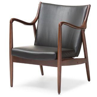Fantastic Kebo Chair Black And White Geometric Pattern With Dark Leg Short Links Chair Design For Home Short Linksinfo
