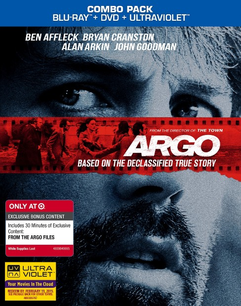 Argo (Blu-ray, DVD, Ultra Violet) - Only at Target - image 1 of 1