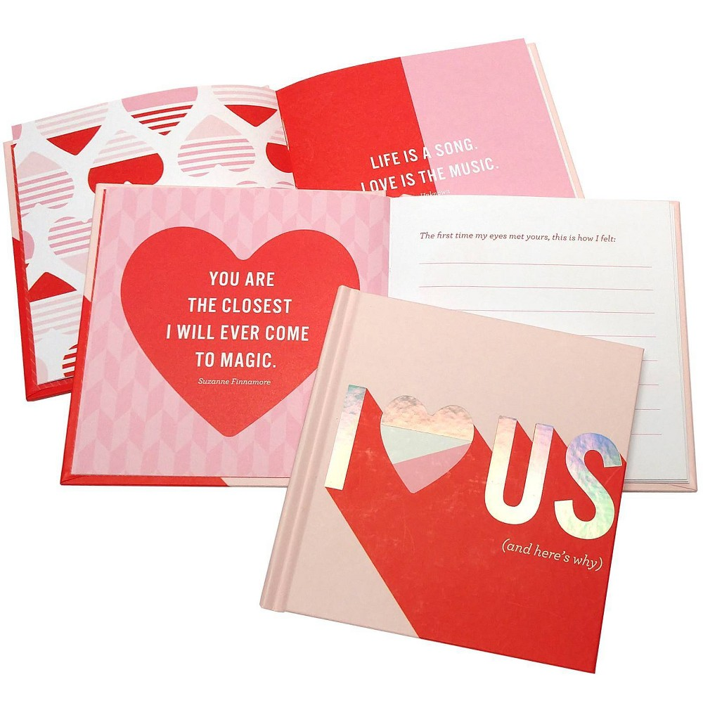 """Image of """"""""""""I Love Us"""""""" Fill in Gift Books Red"""""""