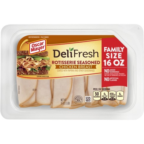Oscar Mayer Deli Fresh Rotisserie Seasoned Chicken Breast -16oz - image 1 of 1