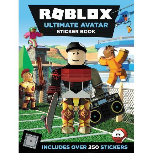 Roblox Ultimate Avatar Sticker Book - (Roblox) by Official Roblox  (Paperback)