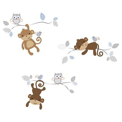 Bedtime Originals Wall Appliques - Mod Monkey