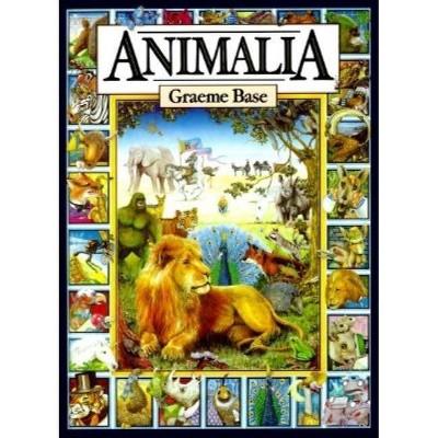 Animalia - by Graeme Base (Hardcover)