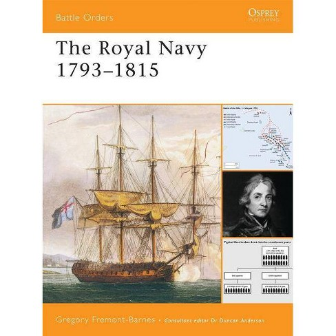 The Royal Navy 1793-1815 - (Battle Orders) by  Gregory Fremont-Barnes (Paperback) - image 1 of 1