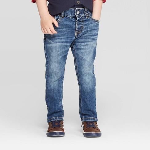 Toddler Boys' Skinny Jeans - Cat & Jack™ Vintage Medium Wash 5T - image 1 of 3