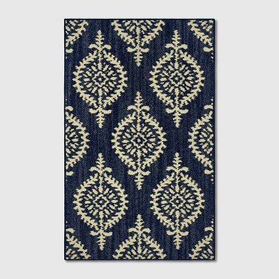 2'6 X4' Paisley Tufted Accent Rugs Indigo - Threshold™