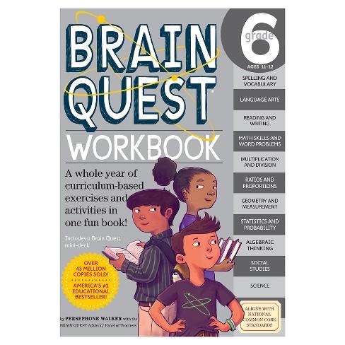 Brain Quest Workbook Grade 6 06/25/2016 - image 1 of 1