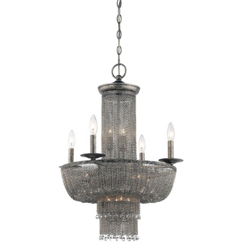 Metropolitan N7215 15 Light 3 Tier Candle Style Chandelier from the Shimmering Falls Collection - image 1 of 1