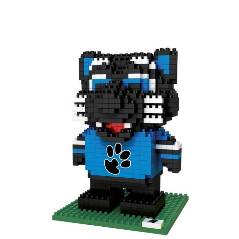 NFL Carolina Panthers BRXLZ Mascot Figure 1000pc - image 1 of 1