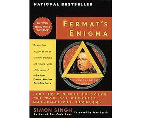 Fermat's Enigma : The Epic Quest to Solve the World's Greatest Mathematical Problem (Paperback) (Simon - image 1 of 1