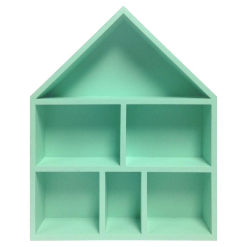 Mint House Cubby - Pillowfort