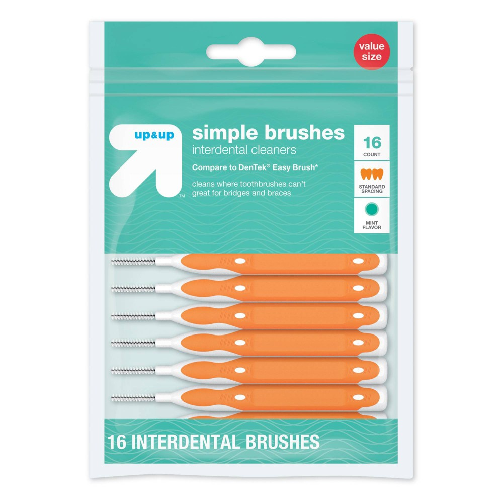 Image of Simple Interdental Brushes - 16ct - Up&Up