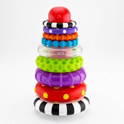 Sassy Stacks of Circles Ring Stacker