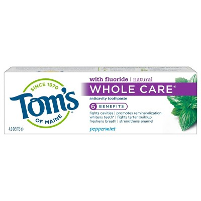 Toothpaste: Tom's of Maine Whole Care