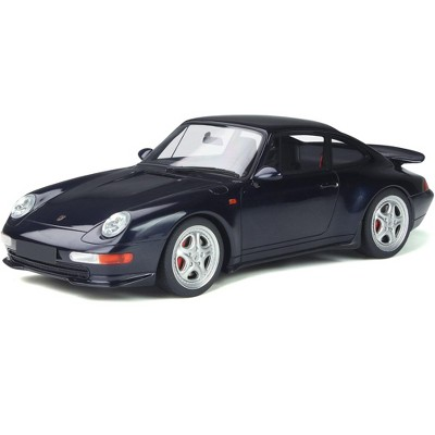 Porsche 911 (993) RS Midnight Blue Limited Edition to 999 pieces Worldwide 1/18 Model Car by GT Spirit