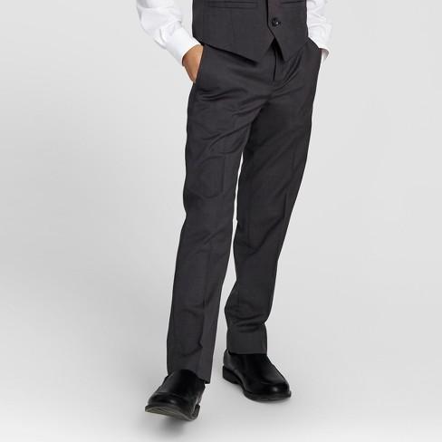 Boys Suit Pants Gray 20 Wdny Black Target
