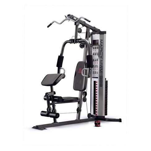 Marcy 150 Pound Weight Stack Machine Home Gym System (MWM-988)