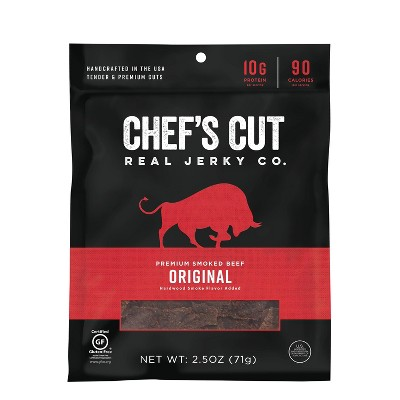 Chef's Cut Original Recipe Steak Jerky - 2.5oz