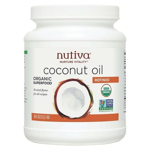 Nutiva Refined Organic Coconut Oil - 54oz - image 1 of 1