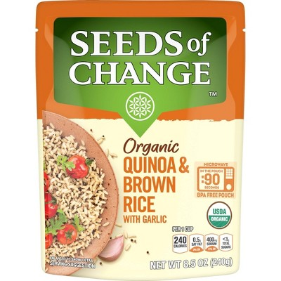 Seeds of Change Organic Quinoa & Brown Rice - 8.5oz