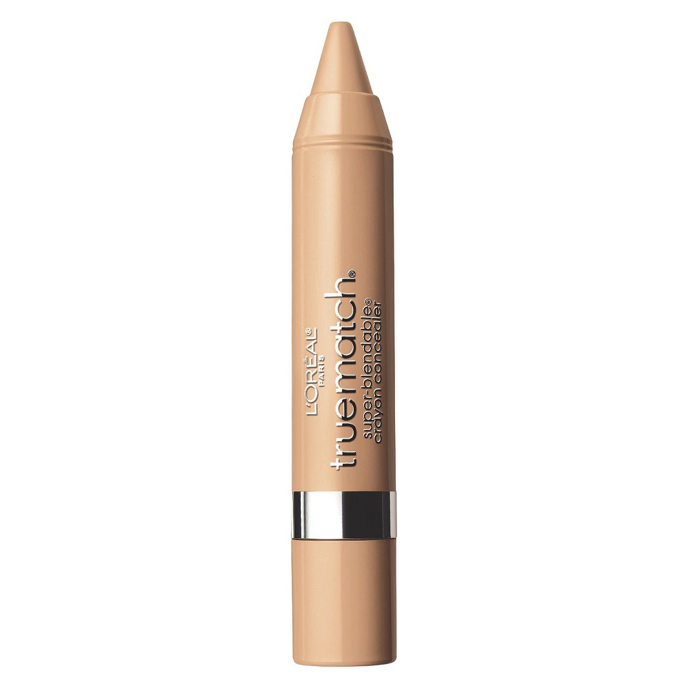 L'Oreal Paris True Match Crayon Concealer W4-5 Light/Medium Warm .1oz, Light/Medium Warm W4-5