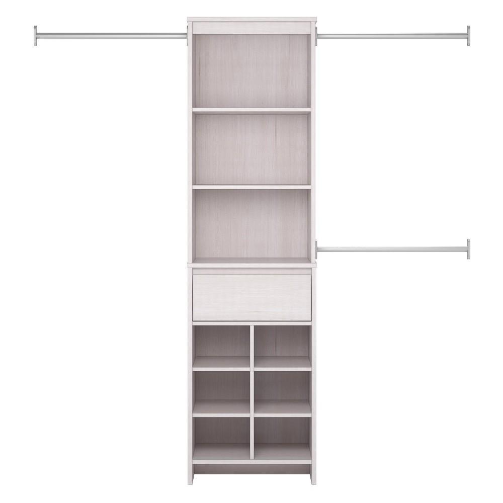 Adult Closet System - Vintage White - Room & Joy